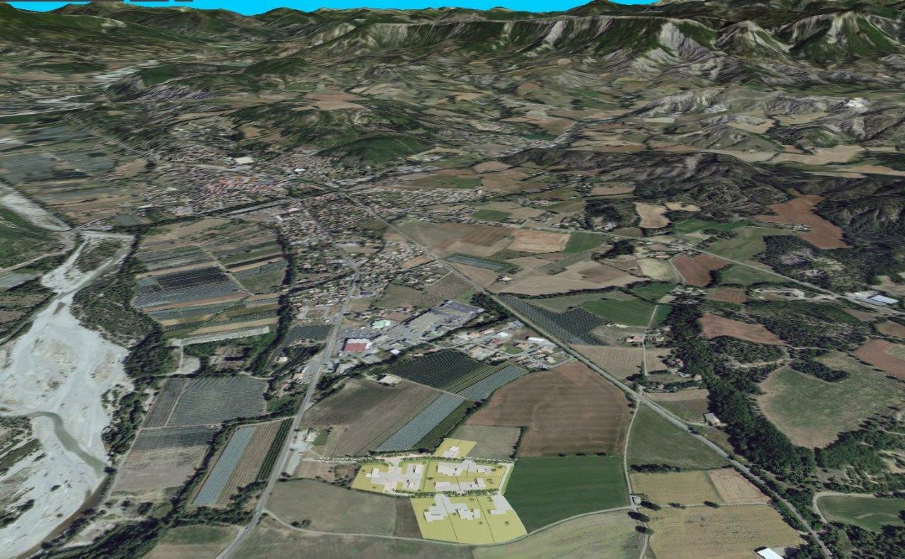 Ecopôle de Laragne : Lot 1